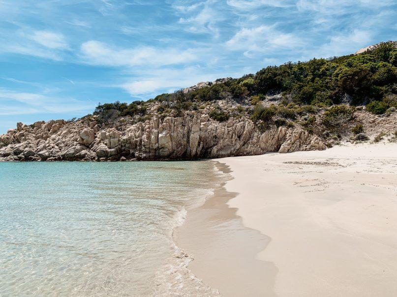 Sardinien Bootsausflug La Maddalena Archipel - Cala Soraja Insel Spargi