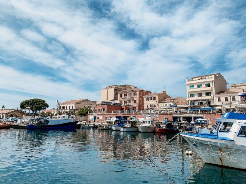 La Maddalena Hafen
