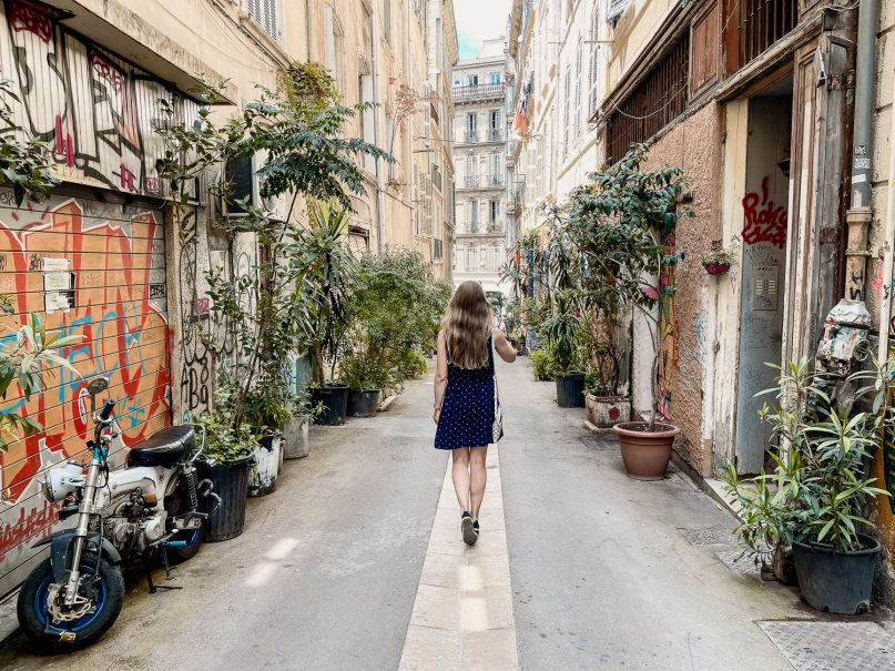 Marseille: La Panier Gassen in der Altstadt