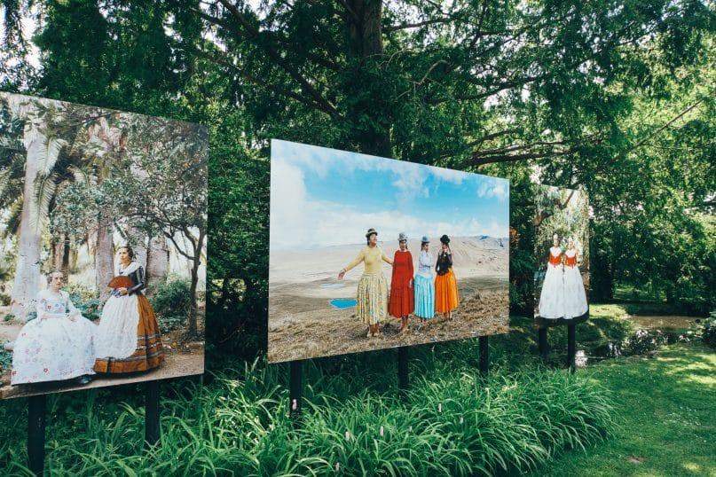 Niederösterreich Roadtrip: Wienerwald Fotoausstellung in der Innenstadt von Baden