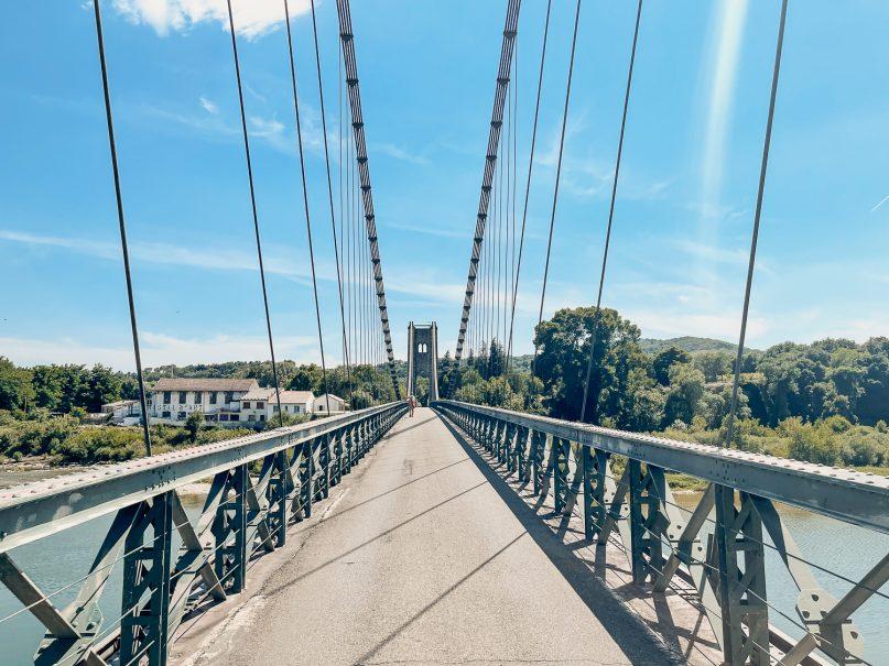 Saint Martin d'Ardeche Hängebrücke