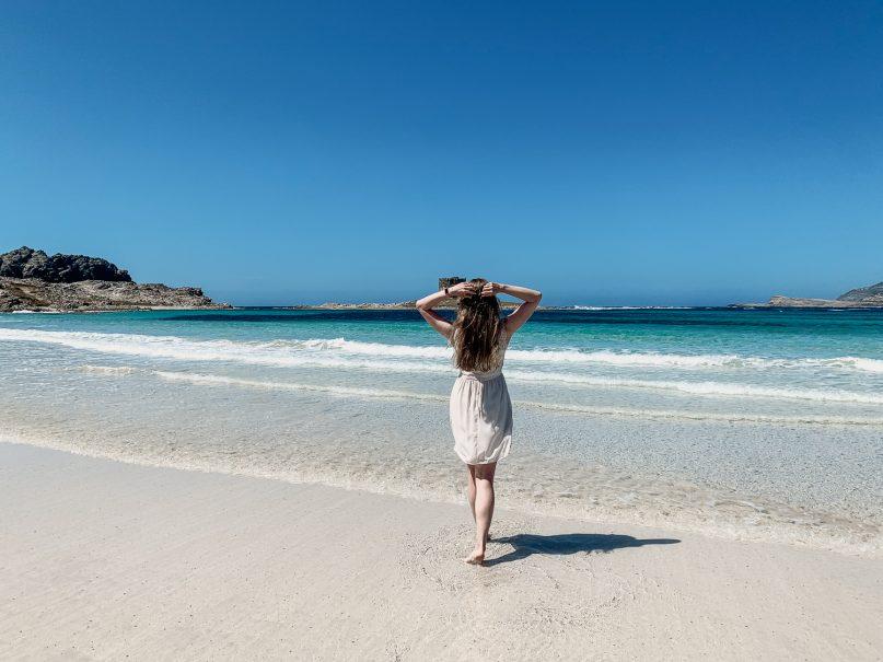 La Pelosa Lagune - beste Sehenswürdigkeiten Sardinien Norden
