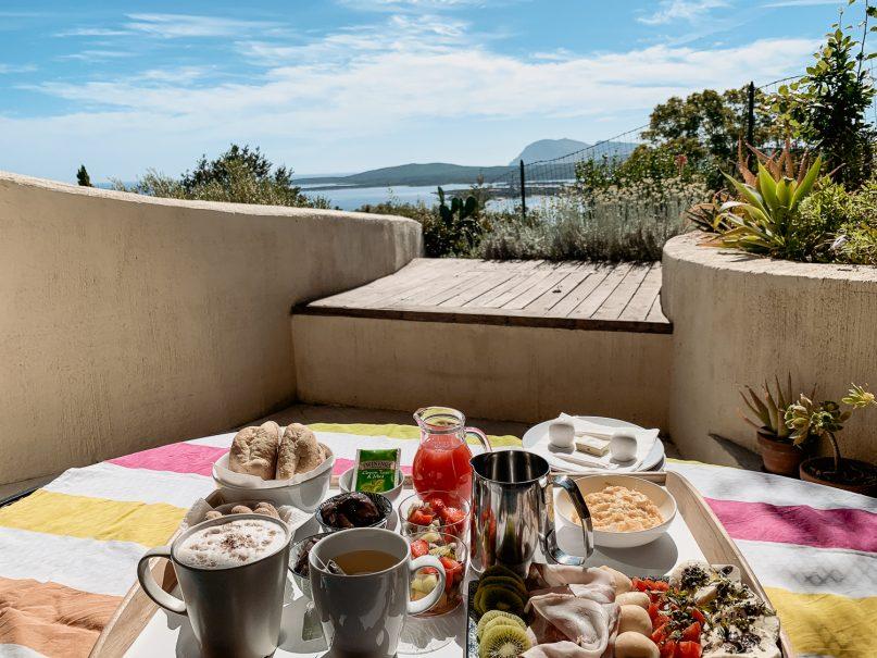 Schönste Hotels Sardinien Norden: Villa Khepri Frühstück