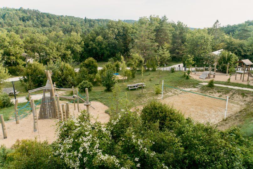 Village Huttopia Sud Ardeche Aussenbereich