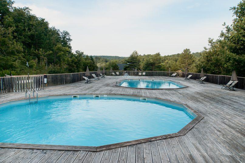 Village Huttopia Sud Ardeche Pool