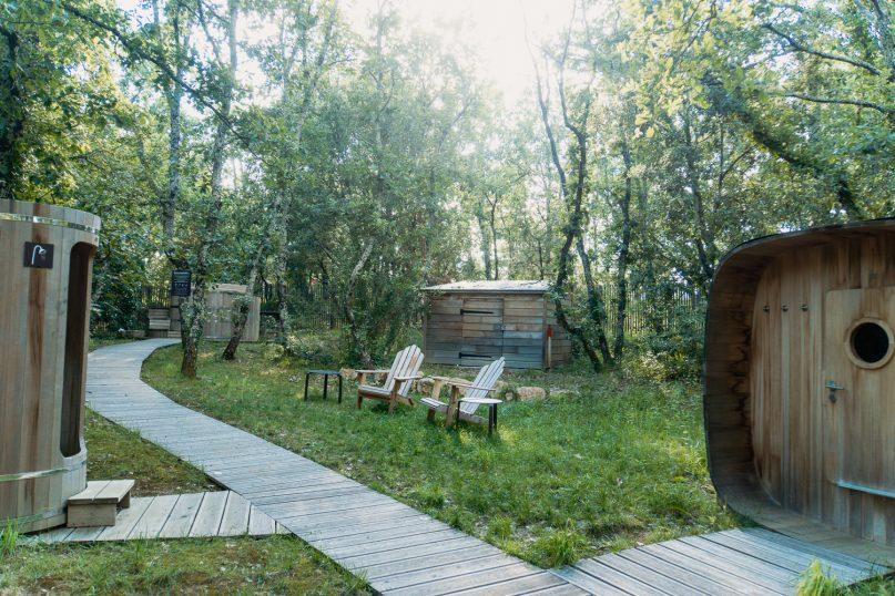 Village Huttopia Sud Ardeche Wald Spa