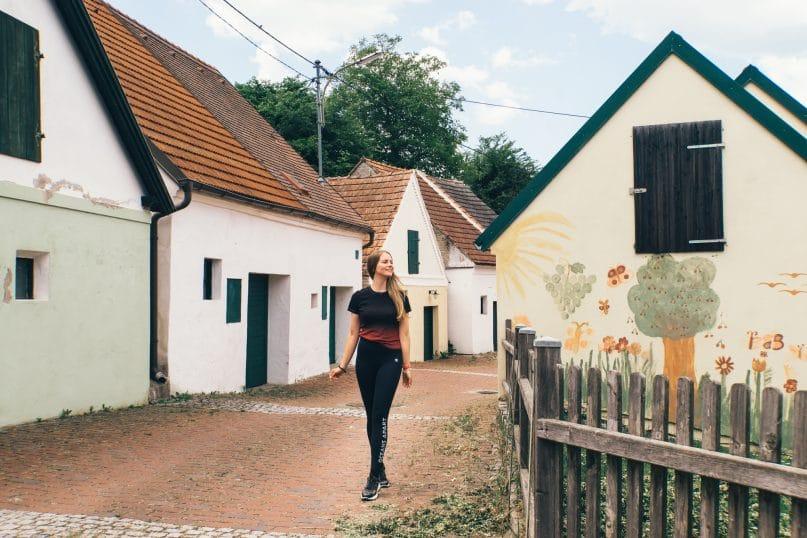 Niederösterreich Reise: Weinviertel Falkenstein Kellergassen