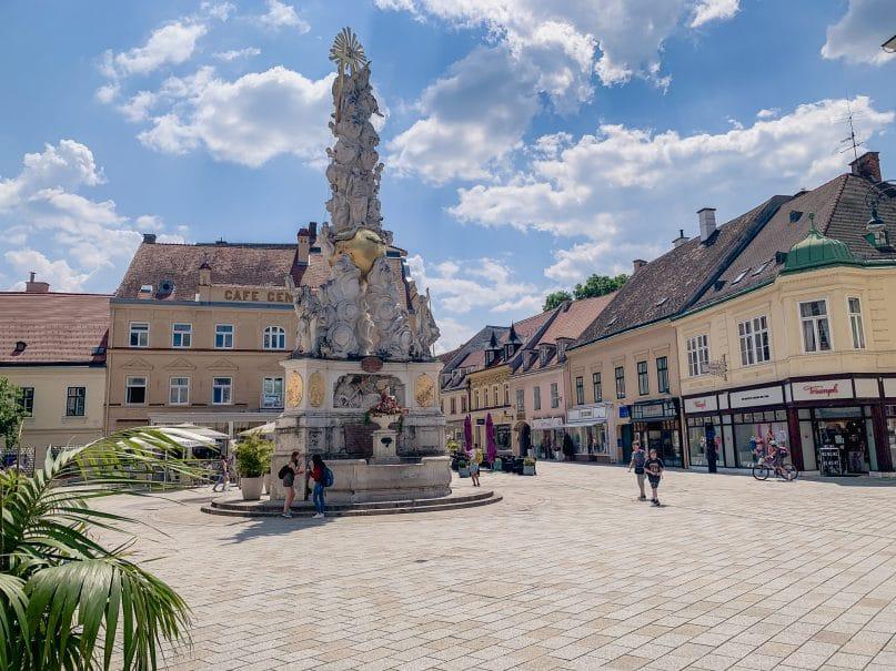 Niederösterreich Roadtrip: Wienerwald Innenstadt von Baden