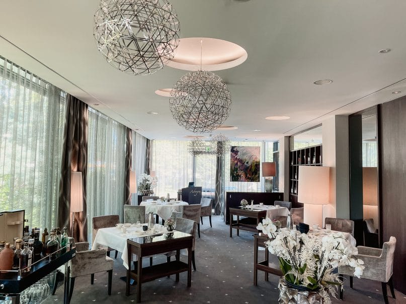 Hotel Vier Jahreszeiten Starnberg Erfahrungen: Gourmetrestaurant Aubergine