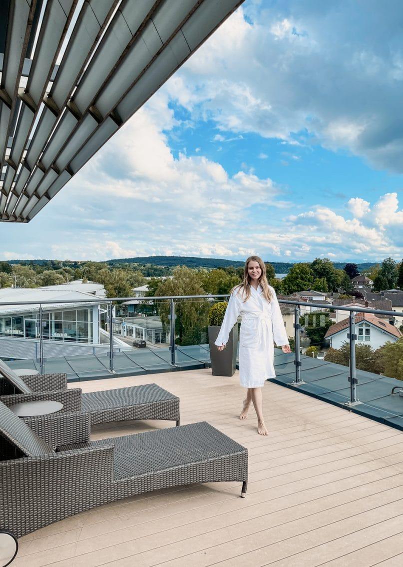 Hotel Vier Jahreszeiten Starnberg Erfahrungen: Spa Fitness Wellnessbereich