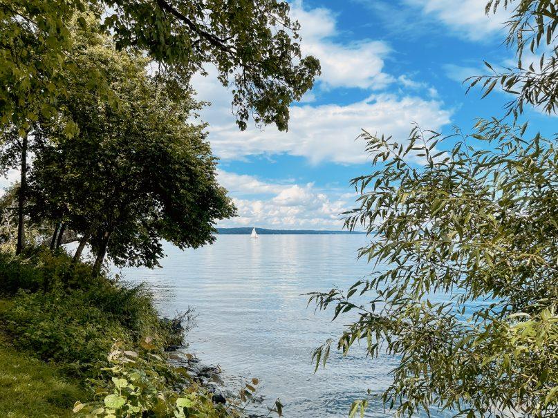 Starnberger See Umrundung mit dem Fahrrad