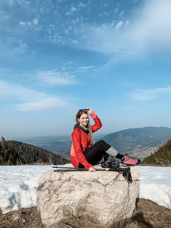 Brauneck: Winterwanderung zum Gipfel