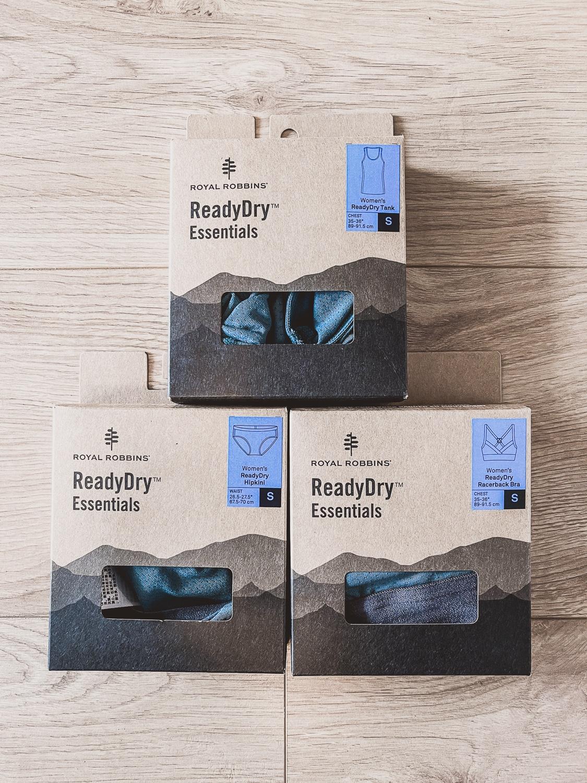 Royal Robbins ReadyDry Unterwäsche Kollektion